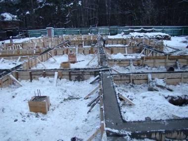 зимный бетон